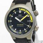 IWC Mens Aquatimer Titanium Black/Yellow Dial Automatic Watch...