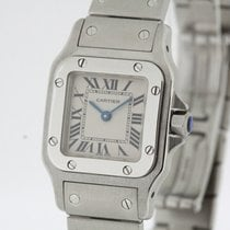 Cartier Santos Curved Small Ref 1565 SERVICED by Cartier...