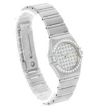 Omega Constellation My Choice Mini Diamond Steel Watch 1455.77.00