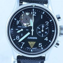 Junkers Herren Uhr Chrono Open Heart Handaufzug Chrono Top...