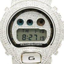 Casio G-shock Custom Zirconia Steel Quartz Mens Watch Dw6900...