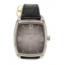 H.Moser & Cie. Henry Double Hairspring Palladium Fume Dial