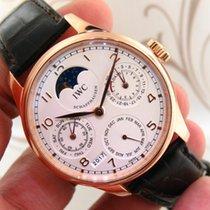 IWC Portuguese Perpetual Calendar ref. IW502213 18k Rose Gold...