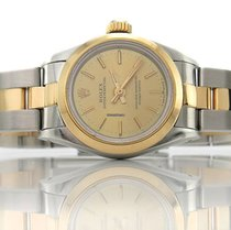 Rolex Oyster 67183 25 mm Automatik Gelbgold Stahl [BRORS 10063]