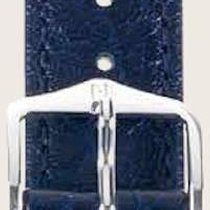 Hirsch Uhrenarmband Leder Highland blau L 04302080-2-20 20mm