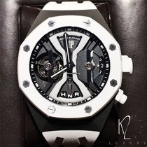 Audemars Piguet Royal Oak Tourbillon Concept GMT White