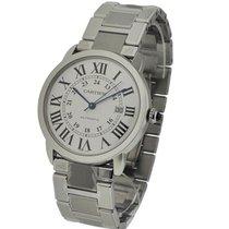Cartier W6701011 Ronde Solo X-Large in Steel - on Bracelet...