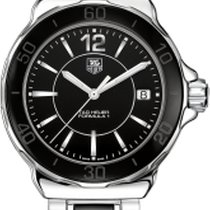 TAG Heuer FORMULA 1 LADY STEEL AND CERAMIC BLACK DIAL