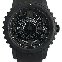 Fortis B-47 Big Black Limited Edition Day Date Automatic