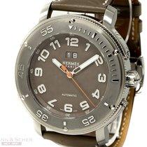 Hermès Montre Clipper Grand Date Ref-61414 Special Hands...