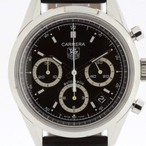 TAG Heuer Carrera Automatic Chronograph 39mm Stainless Steel...