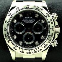 勞力士 (Rolex) Daytona 18 KT white Gold, Diamonds Dial, full set