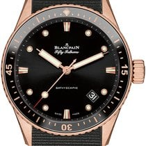 Blancpain Fifty Fathoms Bathyscaphe Automatic 43mm 5000-36s30-...
