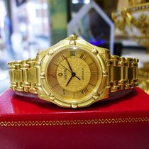 Concord Saratoga 18k Yellow Gold  Watch 50-c2-230 115.3 Grams...