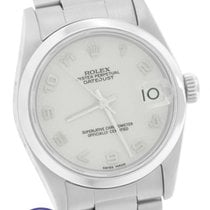 Rolex DateJust Mid-Size 31mm Anniversary Arabic 68240 Stainless