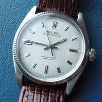 Rolex Oyster Perpetual Automatic Weissgoldlünette m. orig.Papi...