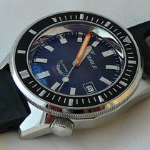 Squale NEW MATIC professional 600 MT, shiny, grey dial, black...