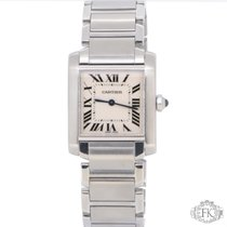 Cartier Tank Francaise Midsize | Mid-Size Stainless Steel...