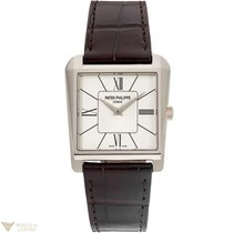 Patek Philippe New Model Gondolo 18K White Gold Watch