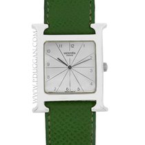 Hermès stainless steel ladies H Hour