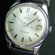 Omega Seamaster Automatic Date  Vintage Steel Mens Watch 14701