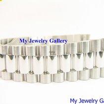 Rolex Aftermarket 18k White Gold Bracelet Band for Mens President