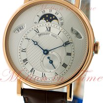 Breguet Classique Day/Date & Moonphase, Silver Dial - Rose...
