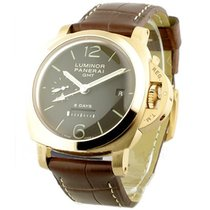 Panerai PAM 00289 PAM 289 - Luminor 1950 8 Day GMT in Rose...