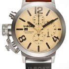 U-Boat Classico 6918 Chronograph 48mm Sterling Silver 925er...