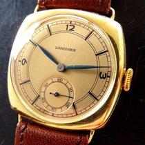 Longines Kal.27.0 Gelb Gold 14K 585 Vintage Herren Armbanduhr...