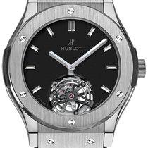Hublot Classic Fusion Tourbillon 45mm Dial Black Automatic...
