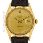 Rolex 18k yellow gold vintage 1981 Date