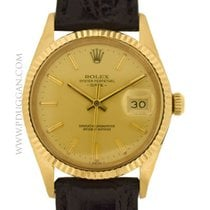 Rolex 18k yellow gold vintage 1981 Date