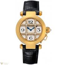 Cartier Pasha de Cartier 18k Yellow Gold Ladies Watch