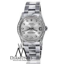 Rolex Ladies Rolex Datejust  Mid-size 31mm Watch  Silver...