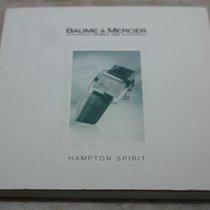 Baume & Mercier vintage kit hampton model warranty card...