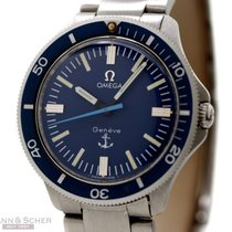 Omega Omaga Vintage Anchor Admirality Ref-135042 Stainless...