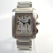 Cartier Tank Francaise Chronoflex Chronograph Revisioniert