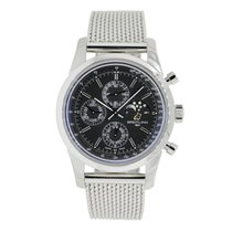 Breitling TRANSOCEAN Chronograph 43 Black Dial