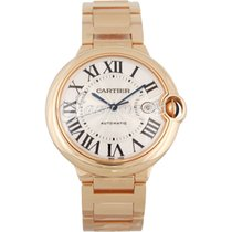 Cartier W69006Z2 BALLON BLEU DE 42mm PINK GOLD 2017