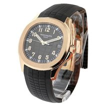 Patek Philippe 5167R Aquanaut 5167R in Rose Gold - on Brown...