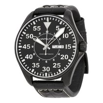 Hamilton Men's H64785835 Khaki King Pilot Watch