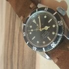Rolex Submariner Chapter Ring Gilt Dial Big Crown