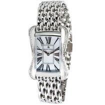 Maurice Lacroix Divina Steel, Diamond, & MOP Quartz Watch...