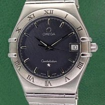 Omega Constellation Date 34mm Grey Dial Stainless Steel
