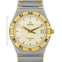 Omega stainless steel and 18k yellow gold Constellation