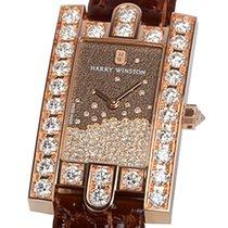 Harry Winston [NEW] Avenue Diamond Drops quartz 18K rose gold...