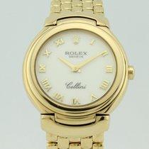 Rolex Cellini Quartz Full 18K Gold Lady 6621-8