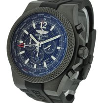 Breitling Bentley GMT Mens Automatic in Black Brushed Steel