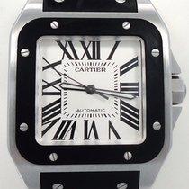 Cartier Santos 100 Large Automatic Black Rubber 2656 W20121u2